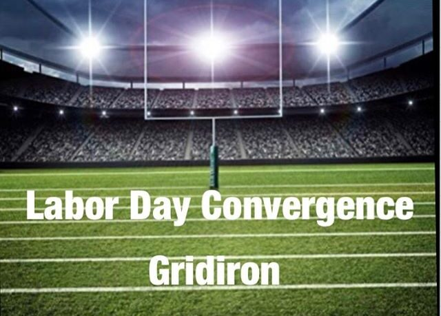 football field labor day gridiron
