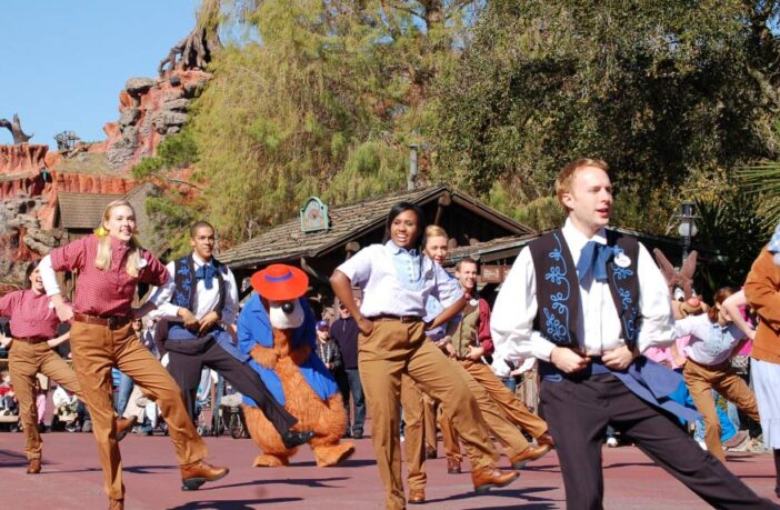 Disney Line Dance